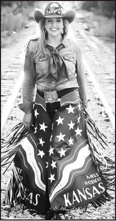 Miss Rodeo Kansas 2019, Brooke Wallace