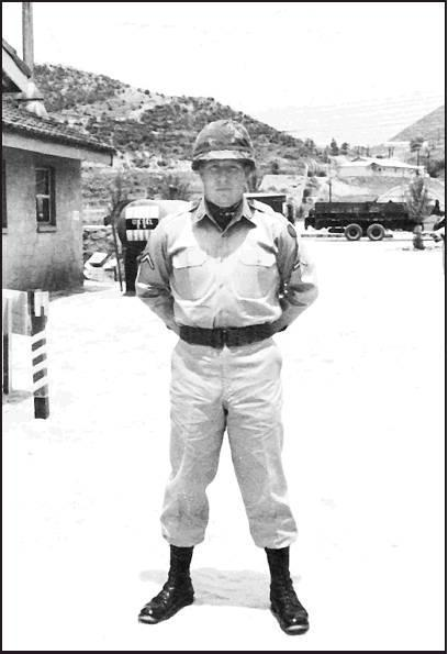 Gary Pohlman served in the Army as a Sergent E5 from 1964-1967.