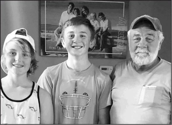 Logan Arasmith, Kyan Offutt (grandson to Bob Schmidt).