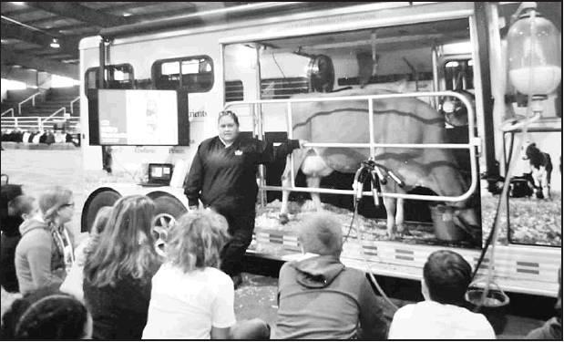 Mobile Dairy Classrooms are part of a dynamic educational program sponsored by the Southwest Dairy Museum, Inc. The 32-foot classrooms feature a fully operational milking parlor will be presented at this years St. John's Harvest Festival from 6-9 p.m. o