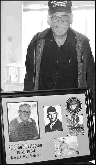 More gifts were bestowed on Bob Petterson when he returned to Beloit as he received a framed memorial that was created by a now forever friend, Mallory Morton, Newton, Ks.