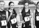Lady Jays Cross Country place second