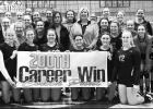 Coach Paul earns 200th volleyball win